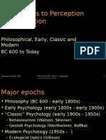 01 History of Perception