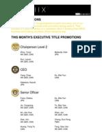 Weekly Title Promotion Week 06