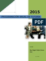 Programacion Curricular Anual de Tutoria