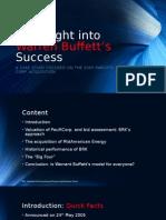 An Insight Into Warren Buffett's Success