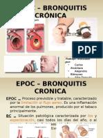 Epoc - Bronquitis Cronica