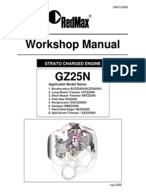 GZ25N Workshop Manual pdf | Internal Combustion Engine