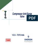 Anti Surge Valves For Copressor