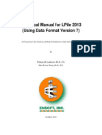 Lpile Technical Manual