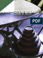 Rehabilitation of Says Law