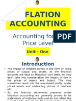 MBA - AFM - Inflation Accounting