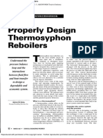 Sloley - Properly Design Thermosyphon Reboilers