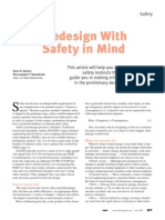 Predesign With Safety in Mind