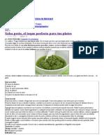 Salsa Pesto _ Cocina Fácil Para Principiantes