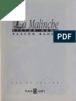 La Malinche de Víctor Hugo Rascón Banda