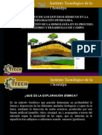 Objetivo de Los Estudios Sísmicos en La Exploración Petrolera
