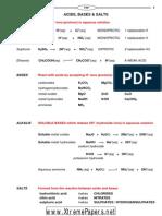 Acids Bases & Salts