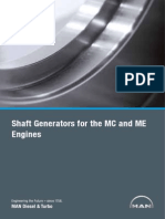 Shaft Generators for Mc and Me Engines