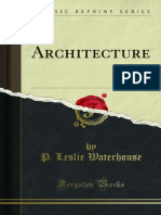 Architecture - Leslie Waterhouse
