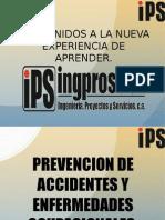 Prevencion de Accidentes y Enfemedades Ocupacionales - Parte I