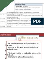 Quality for Governance for Nutrition, June 2014