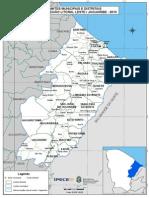 Distritos Litoral Leste Jaguaribe