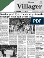 February 15, 2015 Kohler Villager