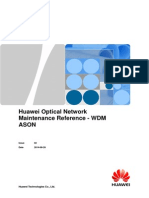 Huawei Optical Network Maintenance Reference-WDM ASON-20140826-C
