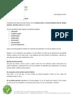 Estructura de La Nota Periodistica