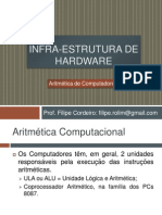 Aula 07 - Aritmetica de Computadores