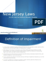 NJ DUI Penalties