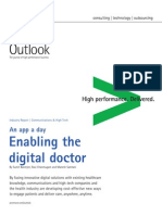 Accenture Outlook Enabling the Digital Doctor