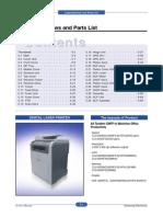 CLX-6210-6240_Parts_list