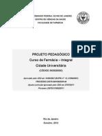 projeto pedagógico Curso farmácia