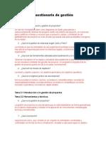 Cuestionario Gestión Empresarial
