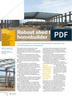 Robust Shed for Home Builder