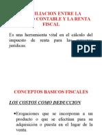 Conciliacion Entre La Utilidad Contable y La Renta Fiscal Teoria Actualizado Enero 2015