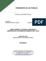 Sentencia Final TPP México