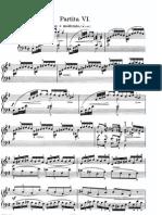 BWV830 Partita No. 6 in e Minor