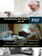 Enseñanzas Del Papa Francisco - Nº 90