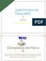 Matemáticas y Olimpiadas- Olimpiada Peruana de Física 2014.pdf