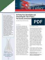 "EU-Turkey Visa Liberalization and Overcoming the ""Fear of Turks"""