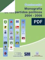 Monografia Partidos Políticos 2004-2008