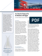 It is Time for Turkey to Fix its Relations with Egypt