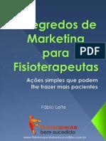 7 Segredos de Marketing Para Fisioterapeutas- V.2