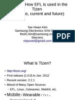 EFL in Tizen