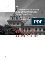 Dedicated Legislature Report [Final for February 2015].docx