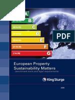 Kings t Urge Sustainability 2009