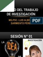 Clases Diseño Del Trabajo de Investigaciòn-cajamarca 2014