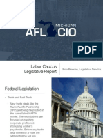 Labor Caucus Legislative Report 2015