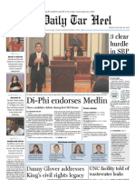 The Daily Tar Heel for Jan. 22, 2010