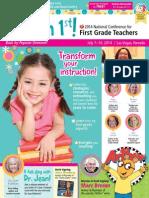i teach first brochures