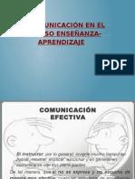 La Comunicación en El Proceso Enseñanza-Aprendizaje