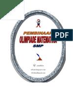 Soal Pembinaan Olimpiade Mat Smp