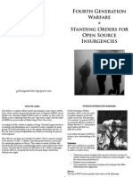 Fourth Generation Warfare and Standing Orders for Open Source Insurgencies Ready to Read